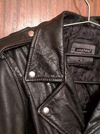 "Heavy ""Italian"" leather Jacket jacket £100 ONO"