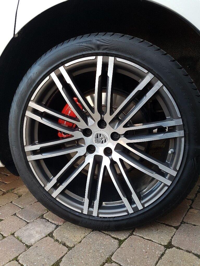 Porsche Macan 21inch Turbo Design Wheels In Woodford Green London