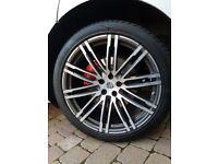Porsche Macan 21inch Turbo design wheels
