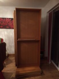 3 large book shelves for sale