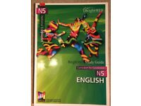 Unused BrightRED N5 English study guide
