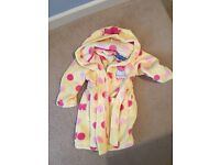 BRAND NEW WITH TAG - 2-3 Years Peppa Pig dressing gown