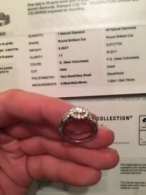 Immaculate diamond ring