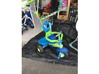 Smart Tike Ride On - Blue/Green