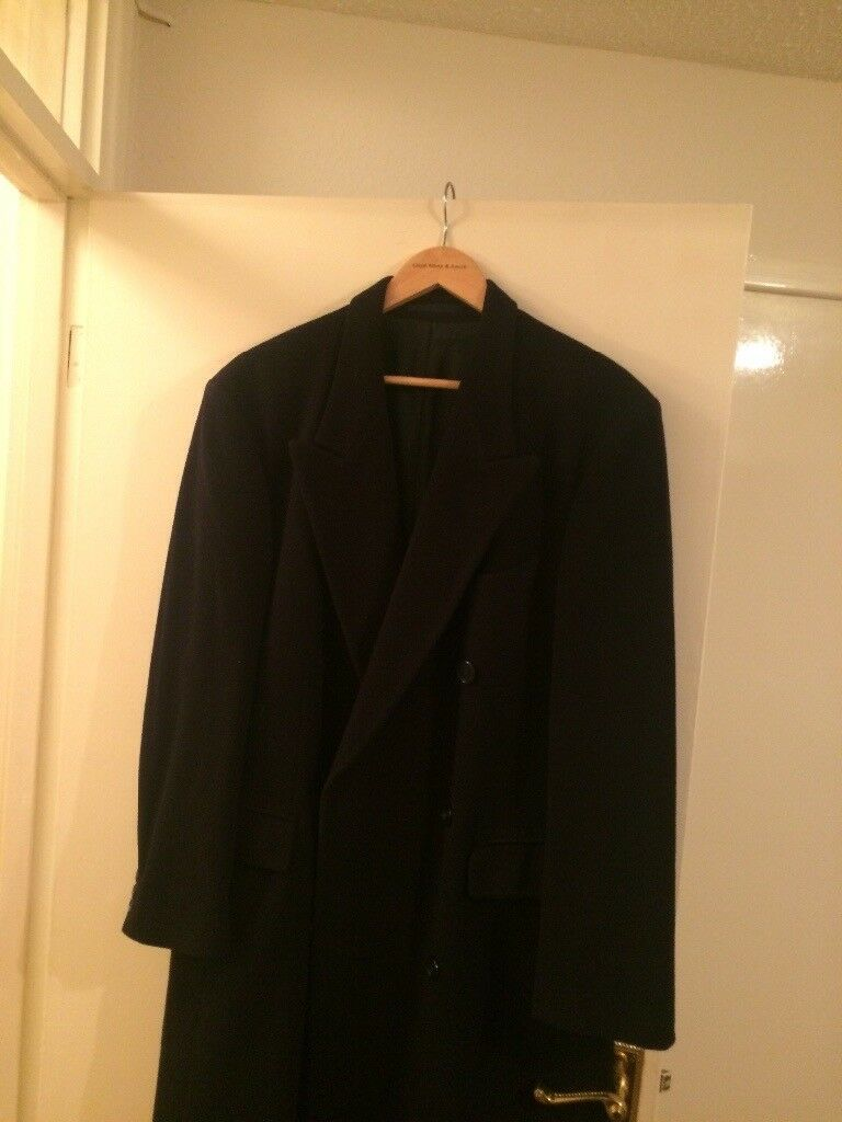 Hugo Boss Gents Wool Overcoat.