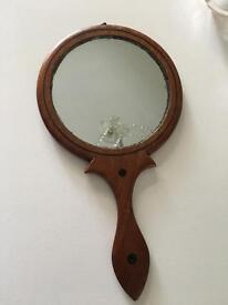 Vintage double sided hand Mirror