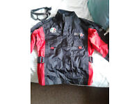 RST large youth bike jacket with goggles