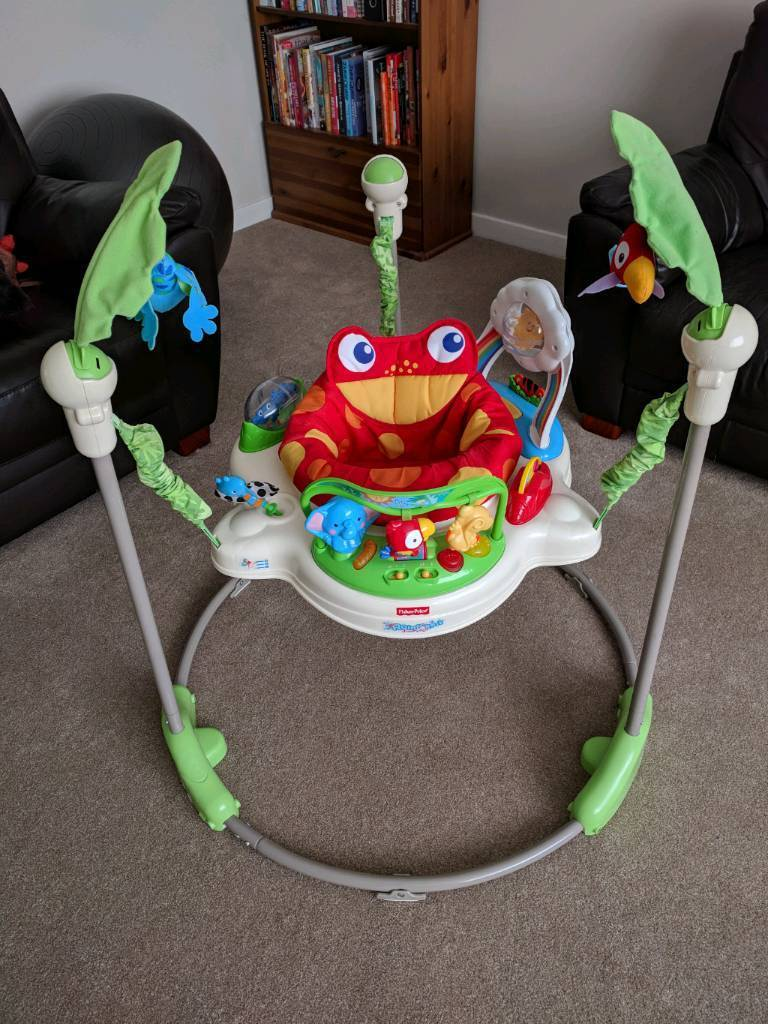 5377429e3 Fisher Price Rainforest Jumperoo - preowned - inc original box and ...