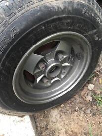 Austin mini wheels