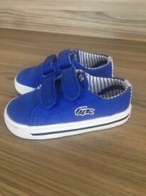 Baby Boy Lacoste Trainers Size 4