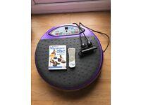 Vibrapower disc & 3 step workout DVD