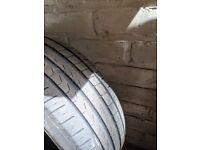 205/50 R17 Run flat tyre.