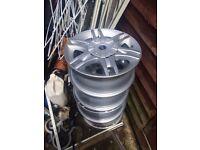 Fiat Alloy Wheels 5 1/2 X 14H2