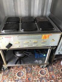 Commercial lincat hob cooker burner catering hotels pub cafe