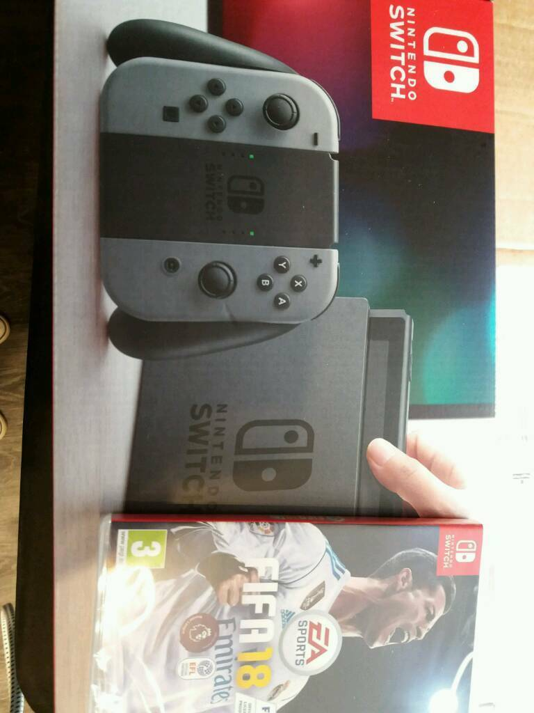 Nintendo switch with fifa. New sealed