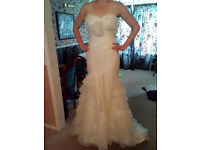 Mori Lee wedding gown size 12 £150 open to offers