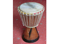 Bongo Drum Hand Carved - Ascot Berkshire