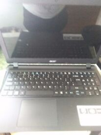 Acer Aspire ES 15 laptop black immaculate under year old