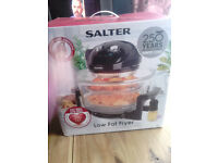 SALTER LOW FAT FRYER *NEW*