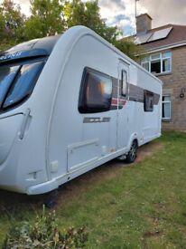 2011 4 birth Sterling Eccles caravan