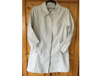 M&S Per Una 100% heavy cotton cream coat. Size M (approx 12-14). Ideal for Summer! £7 ovno.