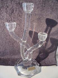 Nachtmann 3 arm candelabra