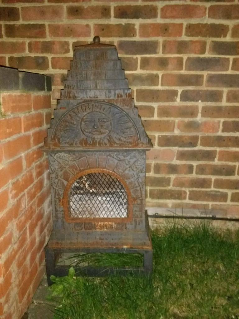Outdoor Chiminea Pizza Oven