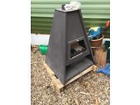Multifuel woodburner