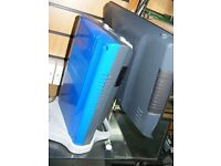 3 tone colour epos till system for salon gm members club very stylish w/ cash drawer & full software