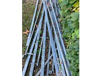 Galvanised Steel 50 x 25mm x 3mm Box Section