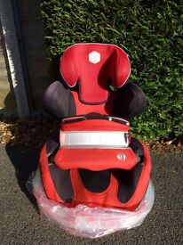 Kiddy Energy Pro car seat with impact bar - NOT BEEN IN CRASH