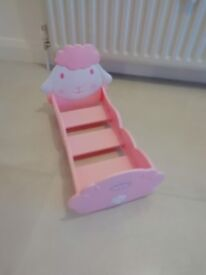 baby annabell dolls cot and stroller