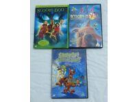 Scooby Doo DVDs - Set of 3