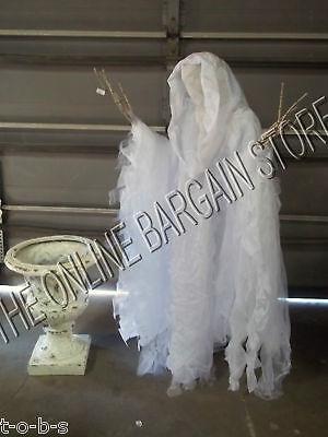 Grandinroad Halloween Prop Life Size Grim Cloaked Reaper ghost 60
