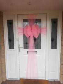 Pink Door Bow