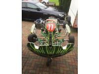 Tonykart EVK 2 Stroke Petrol 125cc Rotax Max for sale