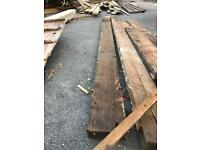 Reclaimed pine 9x2 timber