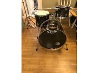 PDP Concept Maple 3 Piece Drum Kit with hardware and cases