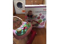 Red kite baby walker with box