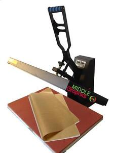 "16 X 24"" Heat Press (Flat) with Teflon-coated heat element   Brand New!!!"