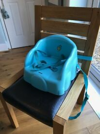 Plastic booster seat - great for mealtimes - just £4