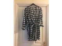 Black and White Gingham Playsuit
