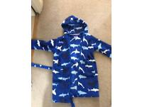 John Lewis shark dressing gown Age 5