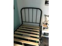Metal bed frame-Single
