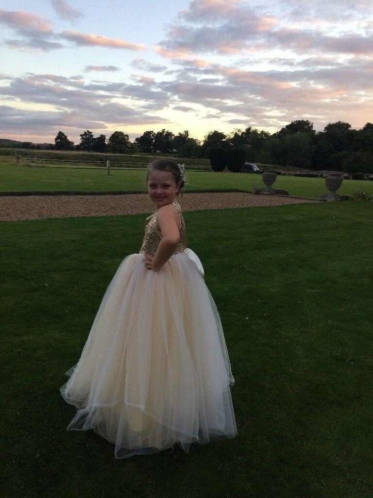 Bridesmaid dress age 8-10