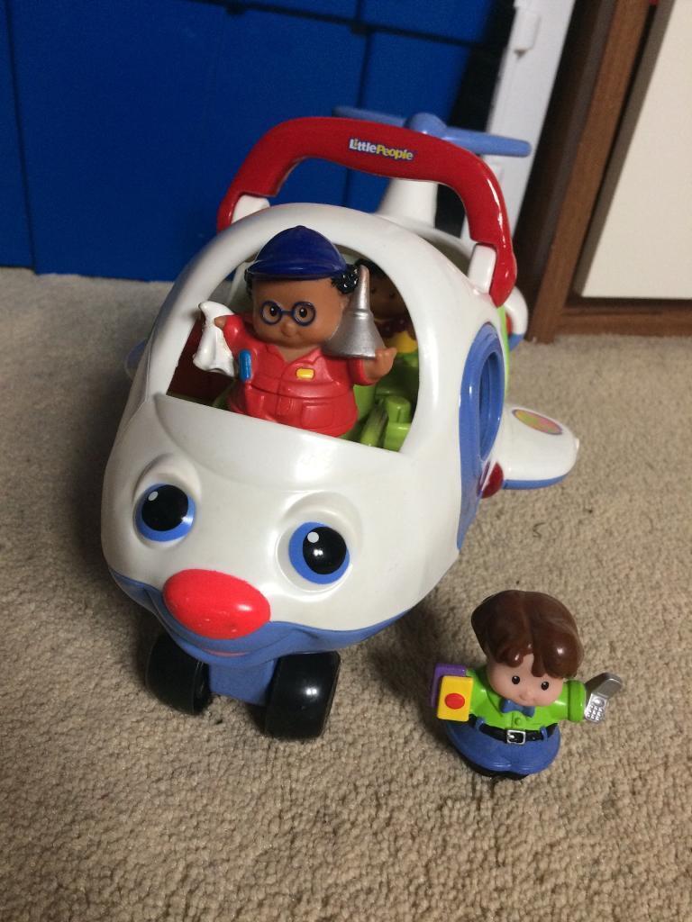 Fisher Price little People aeroplane set