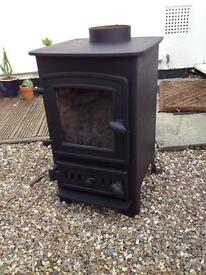 Villager Puffin Log Burner