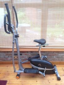 V-fit MCCT1 Magnetic 2-in-1 Cycle & Cross Trainer