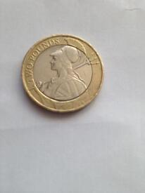 2016 £2 coin