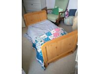 2 cot/bed sets with matresses
